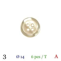 tube de 6 boutons bb03...