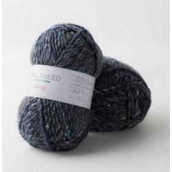 Laine tweedée à tricoter...