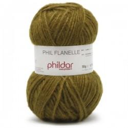 Phil flanelle coloris mousse