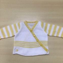 Brassière bébé tricoté main...