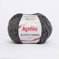 Scotch Tweed Gris foncé -...