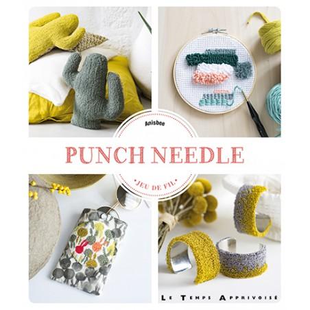 Livre punch needle - JEU DE FIL -ANISBEE