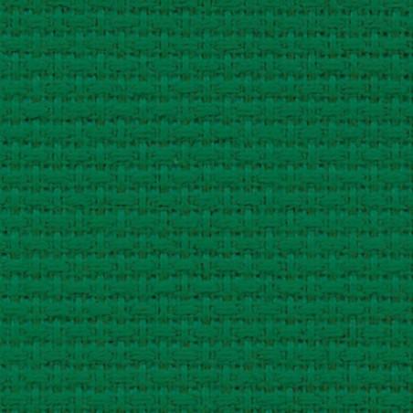 Toile aida 5.5 pts vert sapin par coupon de 25 cm/160cm