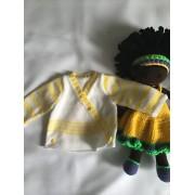 Brassiere bébé tricotée main
