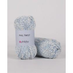 Fil coton à tricoter phil...