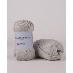 Fil coton à tricoter et...