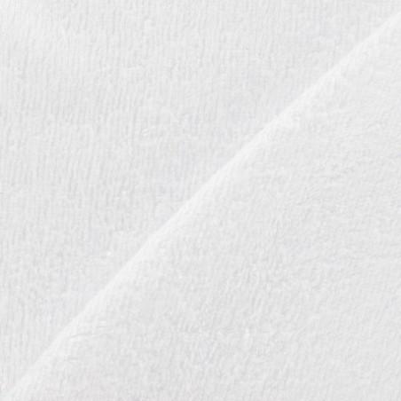 Tissu Micro-éponge Bambou - blanc 50x70 cm