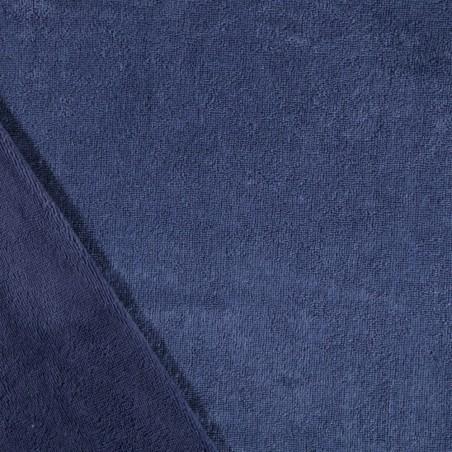 Tissu Micro-éponge Bambou - indigo 50x70 cm