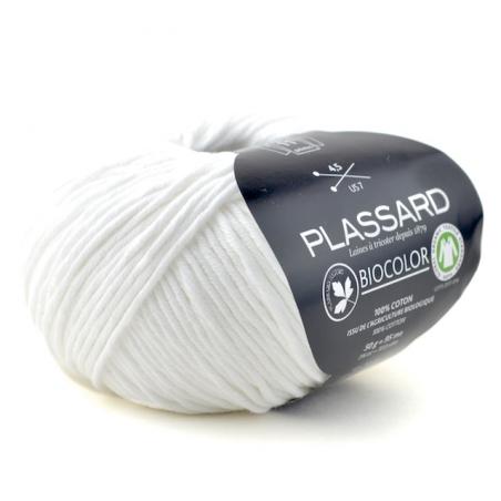 Fil coton à tricoter fil biocolor fils et cotons plassard
