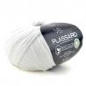 Fil coton à tricoter fil biocolor fils et cotons plassard : Couleur:Blanc