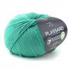 Fil coton à tricoter fil biocolor fils et cotons plassard : Couleur:Emeraude