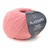 Pelote de fil à tricoter Tweedy fils et cotons plassard : Couleur:Corail