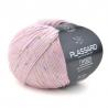 Pelote de fil à tricoter Tweedy fils et cotons plassard : Couleur:Rose
