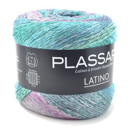 Grosse pelote de coton à tricoter fil Latino fils et coton plassard