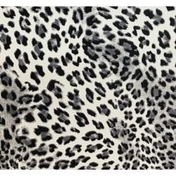 tissu simili cuir motif...