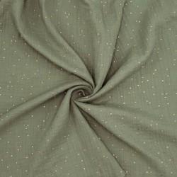 Tissu double gaze DE COTON...