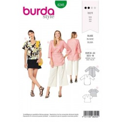 PATRON BURDA 6245 BLOUSE...
