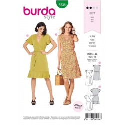 PATRON BURDA 6238 ROBE...