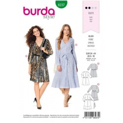 PATRON BURDA 6237 ROBE...