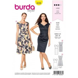 PATRON BURDA 6236 ROBE...