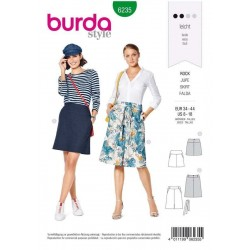 PATRON BURDA 6235 JUPES...
