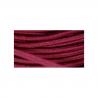 Elastique rond haute qualité et souple 3mm : Couleur:Coquelicot