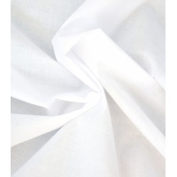 Voile de coton blanc vendu...