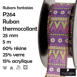 Ruban galon thermocollant...