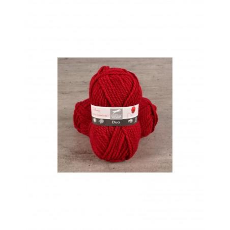 laine cheval Blanc - DUO gros fil à tricoter