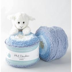 pelote de laine layette à...