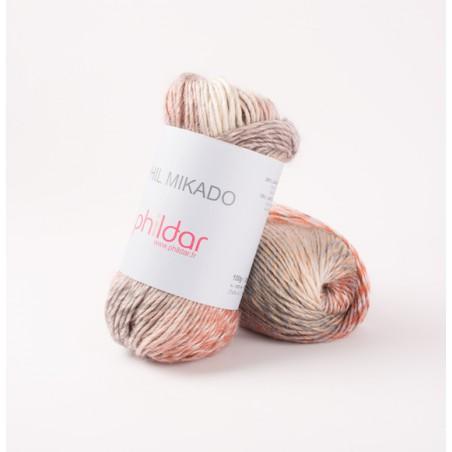 Laine chiné a tricoter Phil Mikado laine phildar