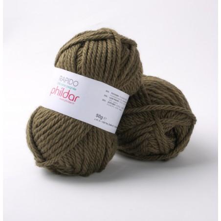 Grosse laine à tricoter Phil Rapido laine phildar
