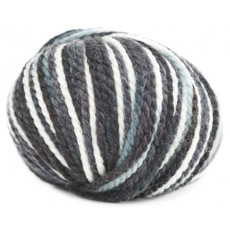 Grosse laine à tricoter Lollypops laine Bouton d'Or