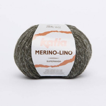 Merino Lino Kaki 511 -laine katia