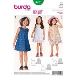 Patron de robe - Burda 9420