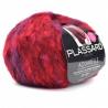Aquarelle laine fantaisie plassard : Couleur:Rouge