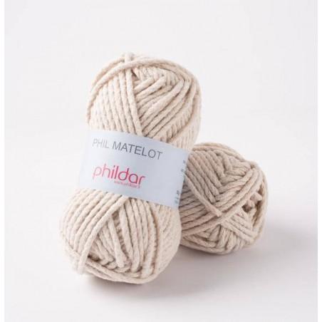 Gros coton à tricoter Phil Matelot fils et laines phildar