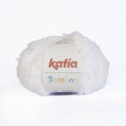 Bombon Blanc laine katia