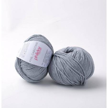 Coton à tricoter moins cher Phil Cabotine fil coton phildar