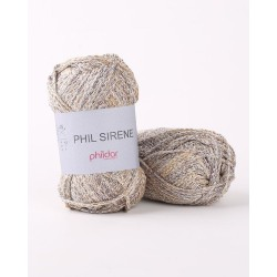 Fil brillant à tricoter...