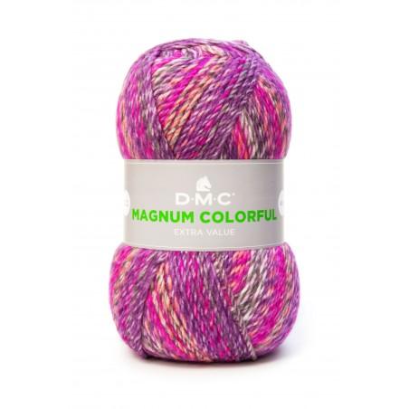 grosse pelote de laine MAGNUM COLORFUL fils et laines DMC
