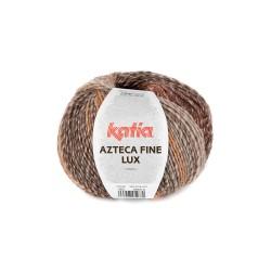 Pelote de laine lurex à...