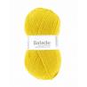 Pelote de laine pour chaussette laine Balade fils et laines Cheval Blanc : Couleur:Moutarde