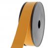 Sangle simili cuir 30 mm pour sacs ou accessoire à partir de 10 cm : Couleur:Moutarde