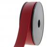 Sangle simili cuir 30 mm pour sacs ou accessoire à partir de 50 cm : Couleur:Rouge