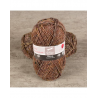 Pelote de laine BAYA TWEED & SILVER laine et fil Cheval Blanc : Couleur:Marron
