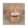 Pelote de laine BAYA TWEED & SILVER laine et fil Cheval Blanc : Couleur:Camel