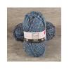 Pelote de laine BAYA TWEED & SILVER laine et fil Cheval Blanc : Couleur:Bleu