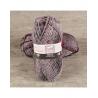 Pelote de laine BAYA TWEED & SILVER laine et fil Cheval Blanc : Couleur:Rose fushia