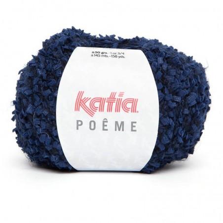 Laine bouclette à tricoter laine Poeme fils et laines katia